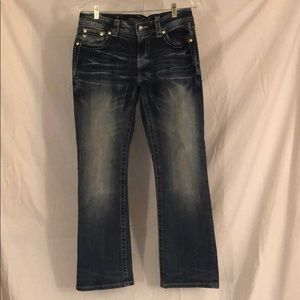 Miss Me jeans for Buckle sparkly sequins boot cut